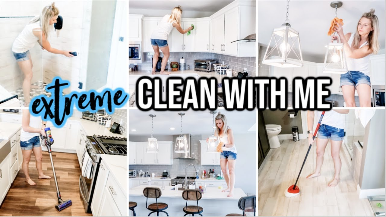 NEW! MASSIVE CLEAN WITH ME 2020   EXTREME CLEANING MOTIVATION   ALL DAY SPEED CLEANING