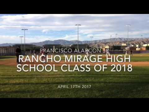 Francisco Alarcon Jr Rancho Mirage High School Class of 2018