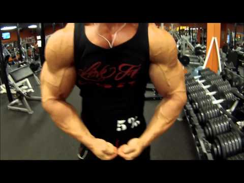"Chris ""The Freak"" Chandler 3 days out Training From the 2015 Orlando Europa"
