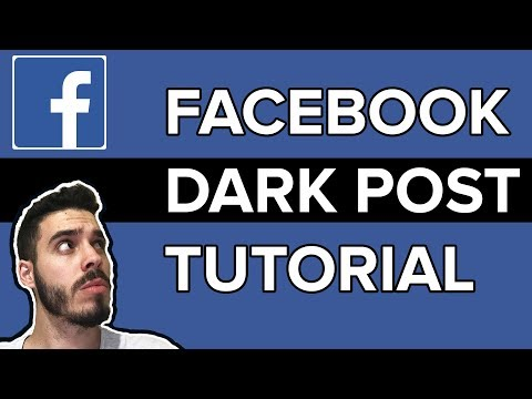 Facebook Ads Tutorial | Using Facebook Dark Post In Your Adv
