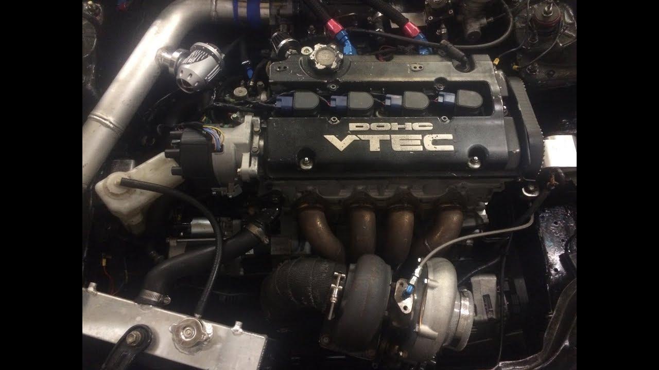 Turbo H22 Build Murdercivic