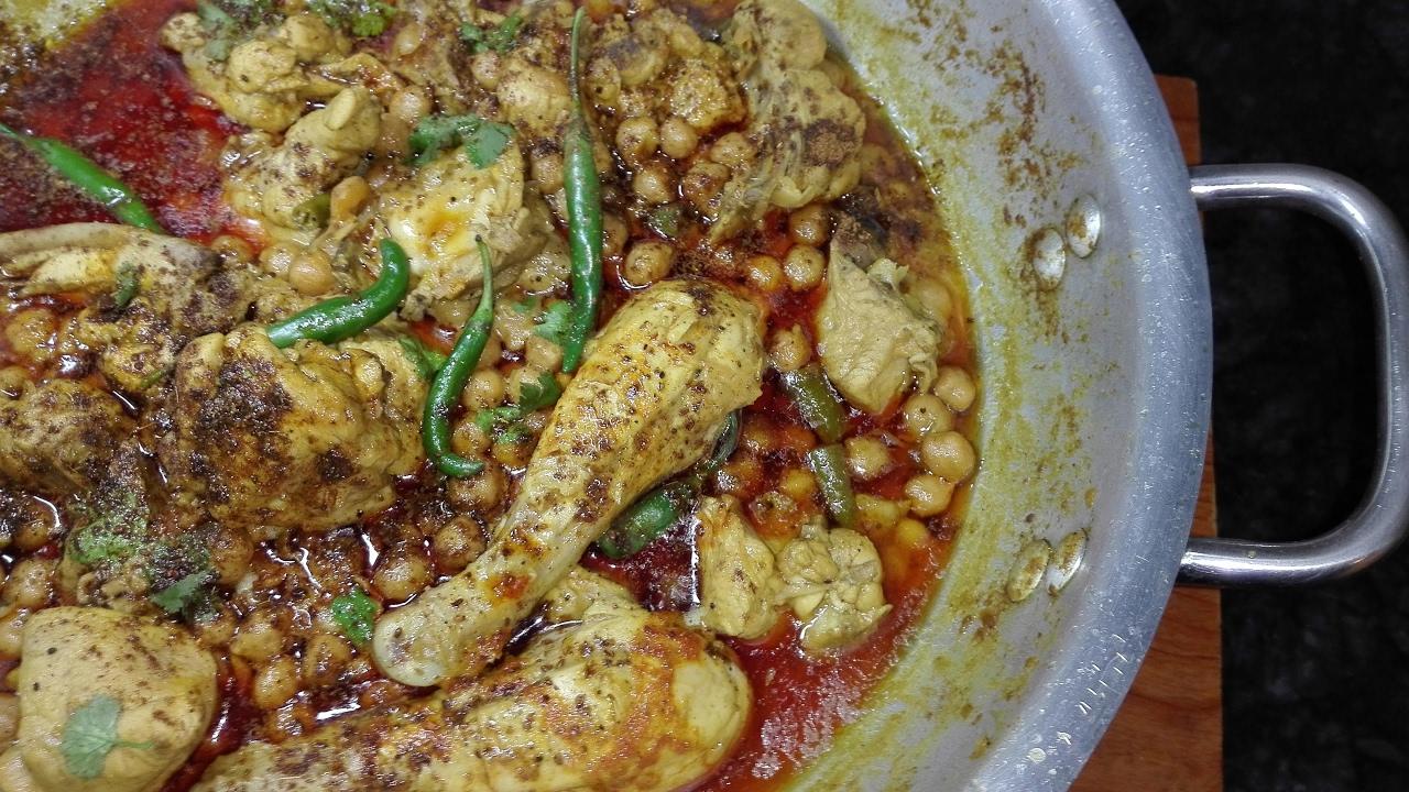 how to make restaurant style chole masala