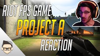 Project A: Riot's Tactical FPS Announcement My First Thoughts