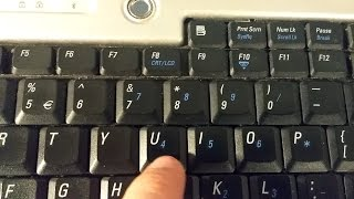 How to use the Numeric Keypad on Dell Inspiron 640m