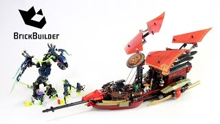 Lego Ninjago 70738 Final Flight of Destiny