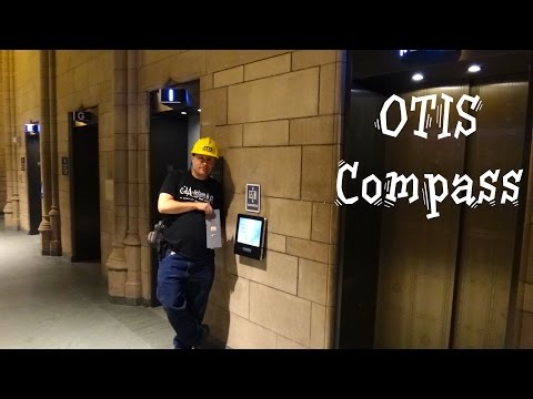 Otis Traction Manually Controlled Freight Elevator Macy