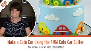 Make a Cute Car Using the FMM Cute Car Cutter