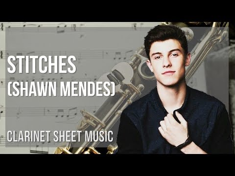 EASY Clarinet Sheet Music: How to play Stitches by Shawn Mendes