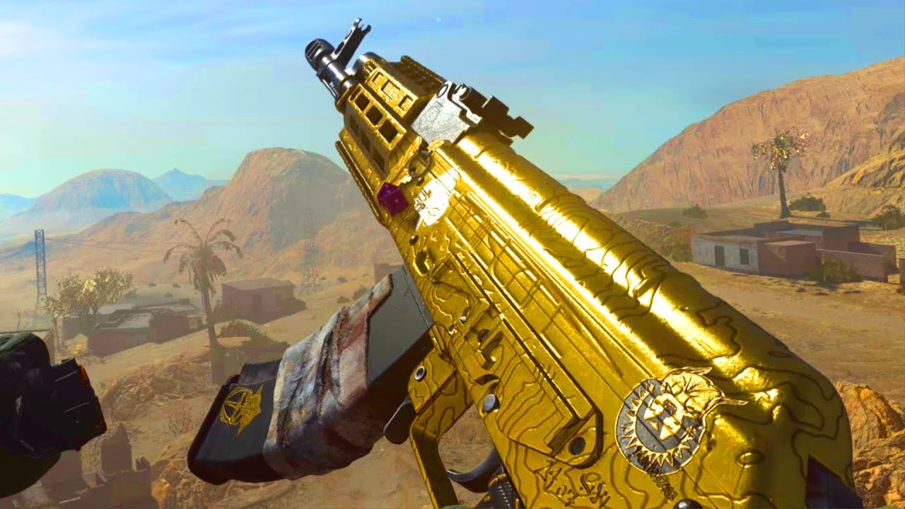 AK47 EN OR sur Call of Duty MODERN WARFARE 2019 !