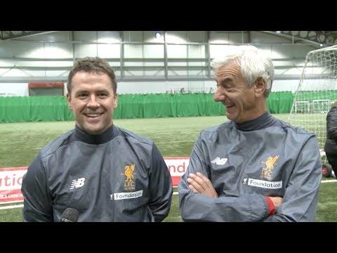 Michael Owen & Ian Rush look ahead to Liverpool legends vs. Bayern Munich