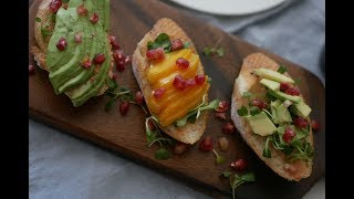 간단하고 맛있는 아보카도요리 두가지! 아보카도컵달걀구이와 아보카도오픈샌드위치!/Avocado recipes