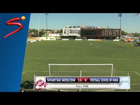 Spartak Moscow 15-0 Football School Of India