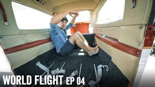 HOT TUB IN THE PLANE? - World Flight Episode 4