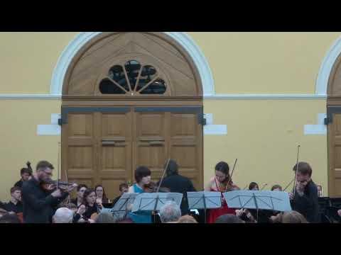 """Vivaldi L'Estro Armonico#10 А.Якушев, В.Тульская, Н.Солодухина, В.Таланов, И.Лукина,Анс.""""Премьера"""""""