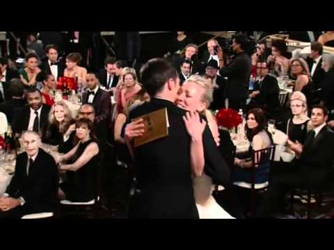 Sheldon's real laugh at Golden Globes Awards 2011