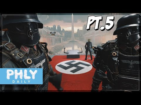 How Is BJ STILL ALIVE?!! | Part 5 (Wolfenstein II: The New Colossus)