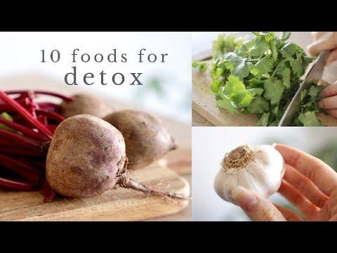10 FOODS FOR DETOX & liver support
