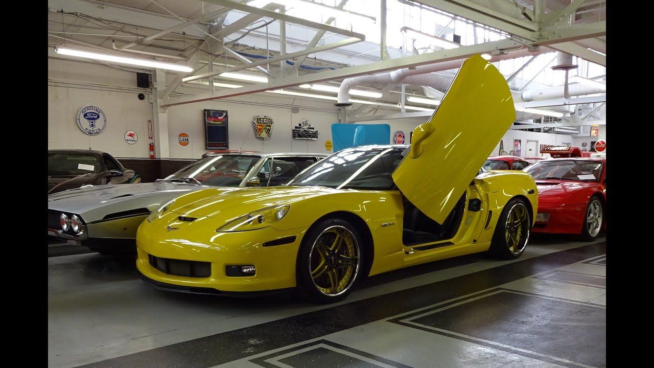 2007 Chevrolet Chevy Corvette Z06 Scissor Doors & Engine Start Up
