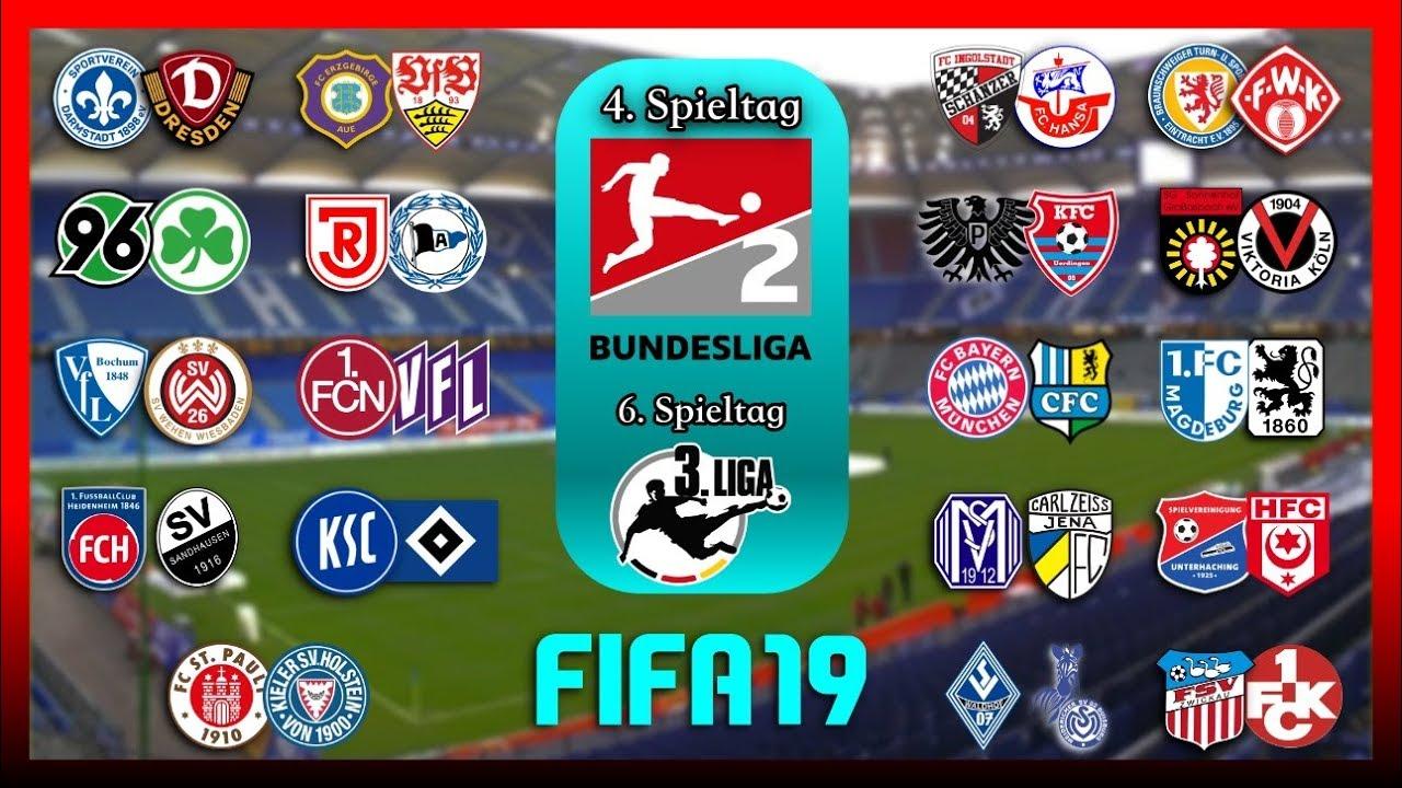 FIFA 19: 2.Bundesliga und 3.Liga [Spieltag 4 & 6] I Prognose I 201920 Deutsch (HD)
