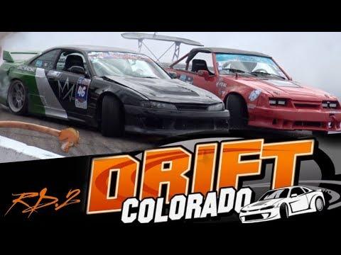 Drift Colorado Rd.2 2018! 5.0 Coyote Mustang vs 2JZ 240sx AGAIN!