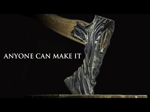 Making Orc Axe from Household Axe. No forging, just Common Tools