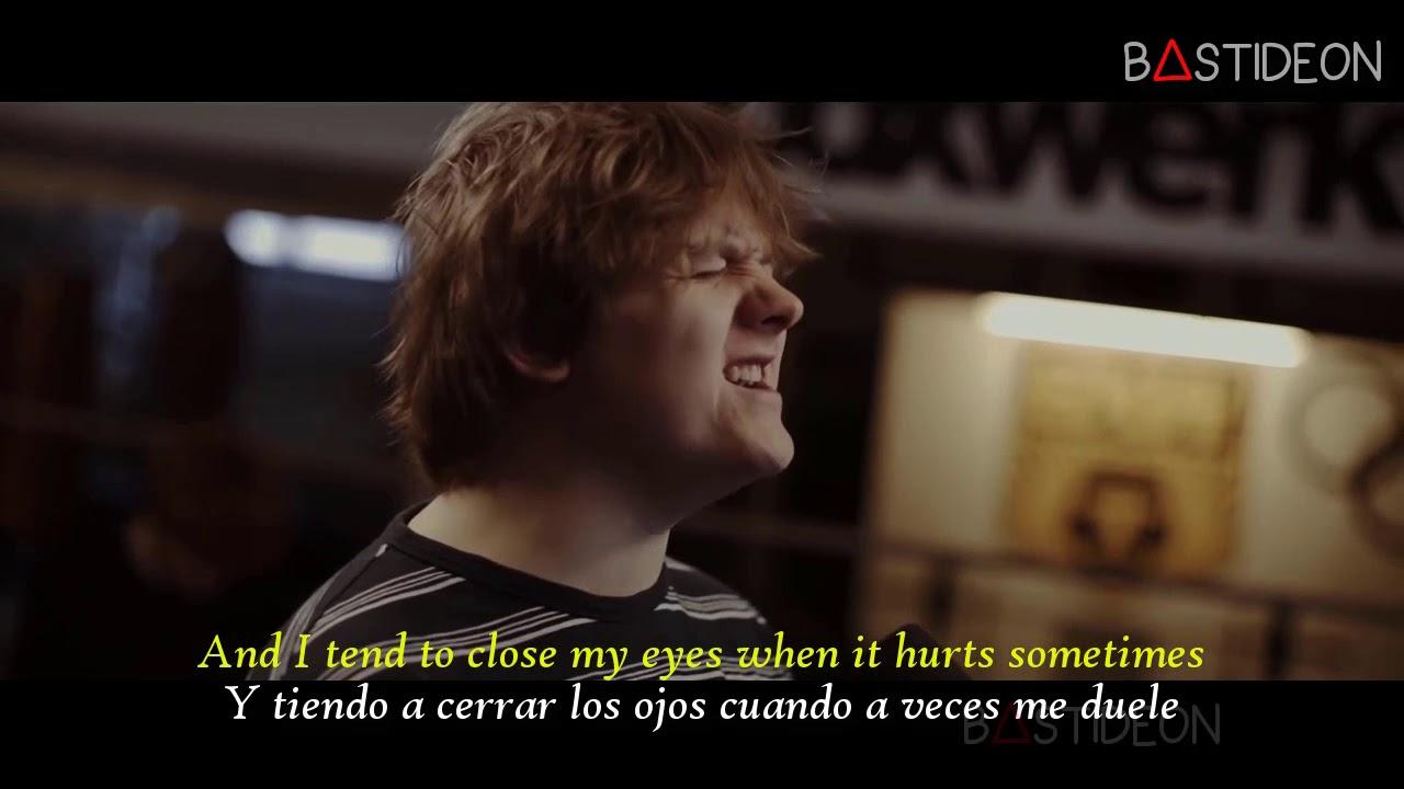 Lewis Capaldi Someone You Loved Sub Español Lyrics Youtube