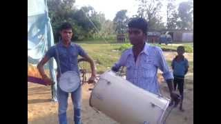 bhagra dhol beating by ravi and pitamber......upload by yam manish  ...YAM MANISH