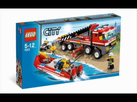 lego city 7206 and 7213