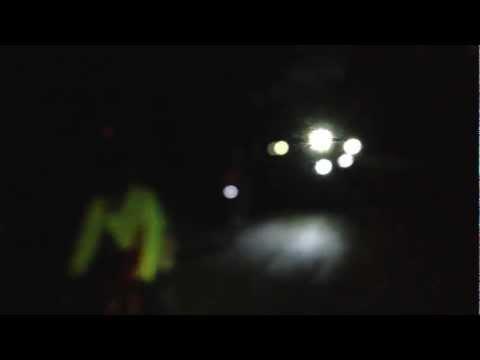 Solstice Night Bike Light Ride, Christchurch, New Zealand - June 21, 2012