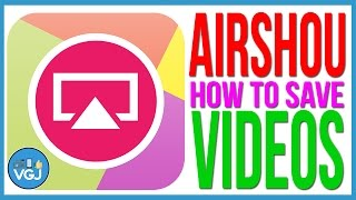 How to Save Airshou Videos to Your Photos. How to Record Your iPhone or iPad Screen.