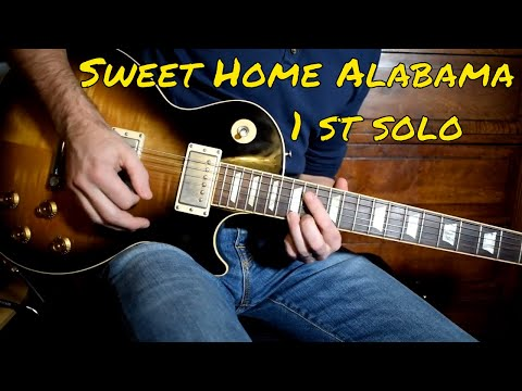 Lynyrd Skynyrd - Sweet Home Alabama 1 st solo cover