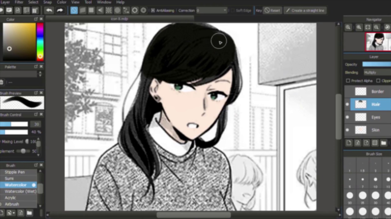 Manga translator tries to color manga