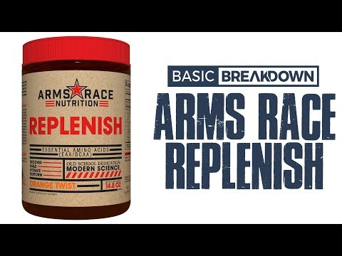 Arms Race Nutrition Replenish Supplement Review   Basic Breakdown