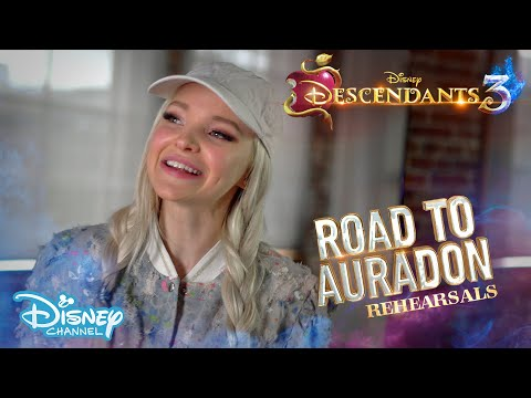 Descendants 3 | BEHIND THE SCENES: Road To Auradon -  Rehearsals