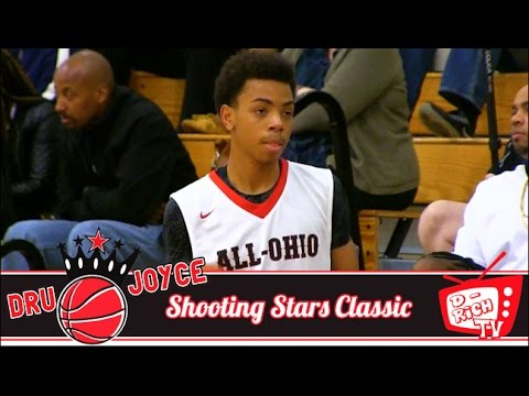 eb19e27a2874 7th Grader Paul McMillan Is A Walking Bucket! - 2017 Dru Joyce Shooting  Stars Classic