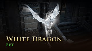 Path of Exile: White Dragon Pet