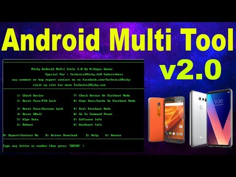 How To Use Micky Android Multi Tools V2.0 - Android Multi Tools V2.0