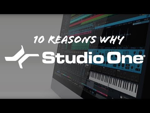 PreSonus—10 Reasons Why Studio One Is Right for You