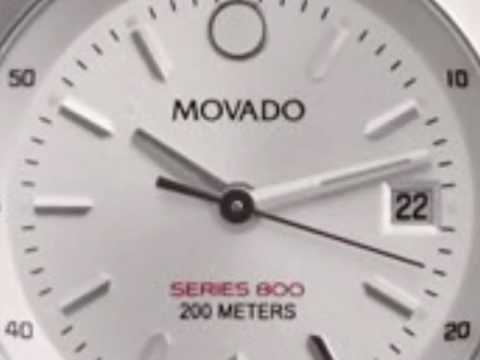 Movado Series 800 Watches Deals - Steel Ladies Watch 2600031