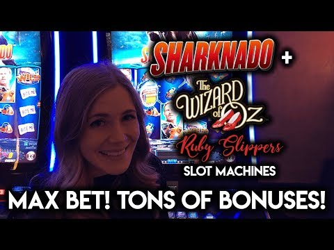 Wizard of Oz Ruby Slippers and Sharknado! Loads of Bonuses!!!