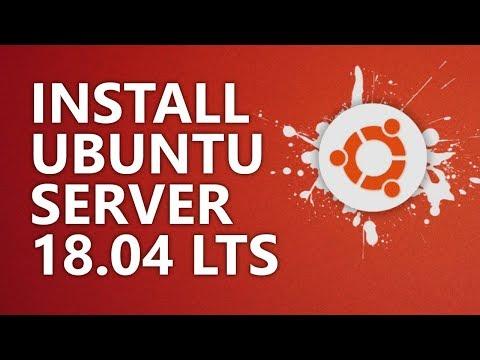 Building A Home Server Part 3: Install And Setup Ubuntu Server 18.04 LTS