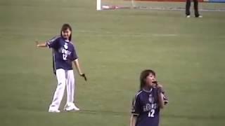 CUBE 2003年7月5日(土) 東平尾公園博多の森球技場 アビスパ福岡 VS 湘南ベルマーレ ハーフタイム