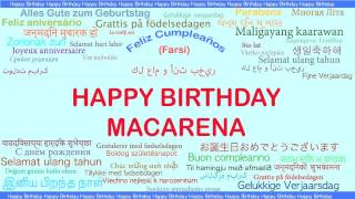 Macarena   Languages Idiomas - Happy Birthday