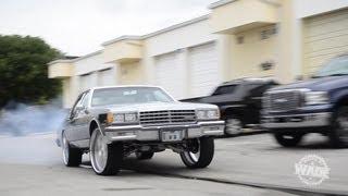 """Frame Off Chevrolet Caprice on 26"""" Savini Wheels WhipsByWade.com"""