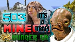 Minecraft: Hunger Games w/Mitch! Game 503 - IT