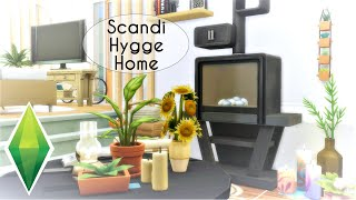 SCANDI HYGGE HOME | The Sims 4 | Speed Build [No CC]