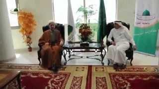 استقبال رئيس مكتب شئون حجاج العراق من قبل رئيس المؤسسة الأهلية للأدلاء موسم حج 1436 هـ