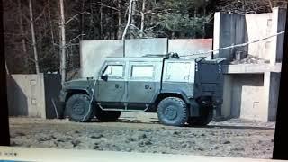 IVECO LMV испытания на подрыв, 8 кг взрывчатого вещества.