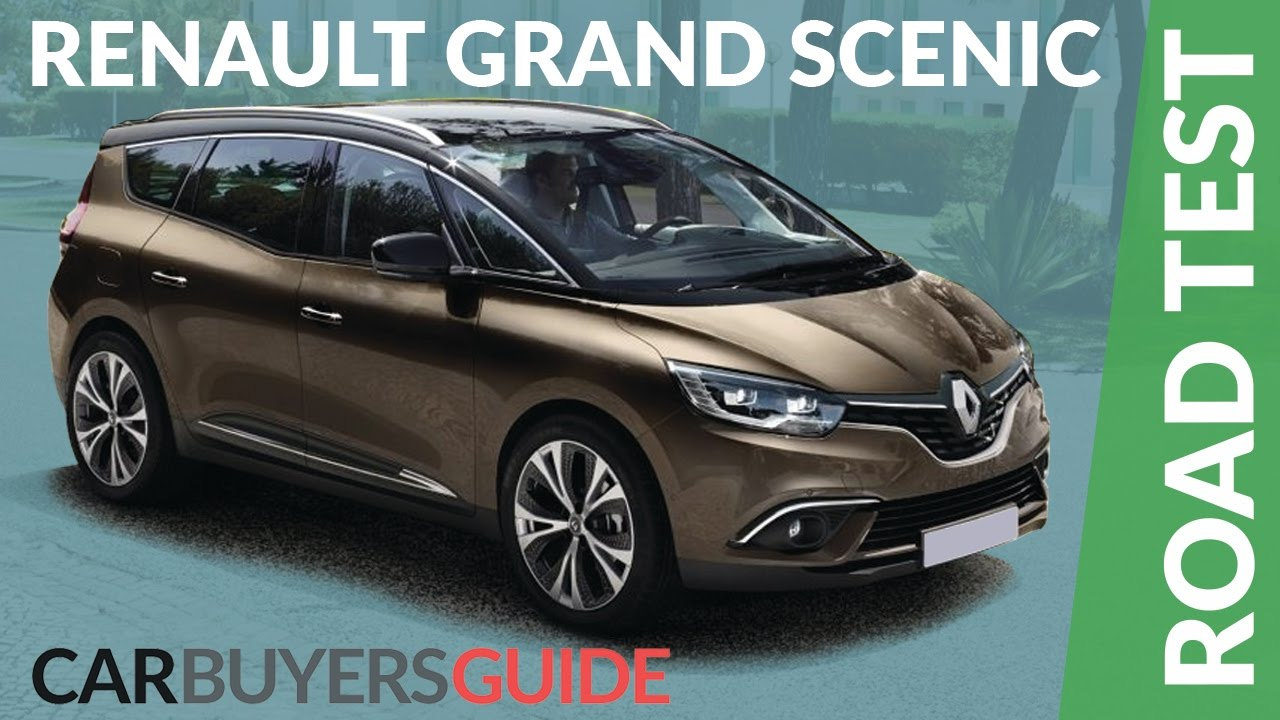 renault grand scenic 2017 review youtube. Black Bedroom Furniture Sets. Home Design Ideas