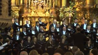 CONCIERTO Coro Fundacion Princesa Asturias. AVE MARIA DE A BRUCKNER- Iglesia Carmen  Cádiz 30 04 15